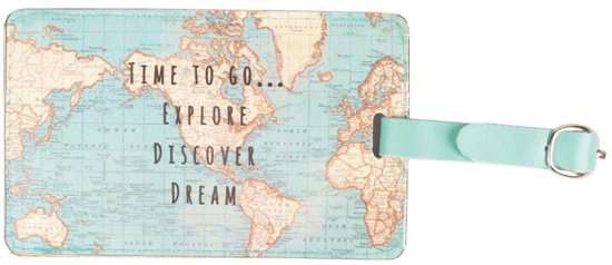 Suitcase Tag - 10 Christmas Gift Ideas for your travel buddy.