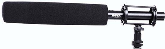 BOYA BY-PVM1000L microfoon Microfoon voor digitale camera Zwart