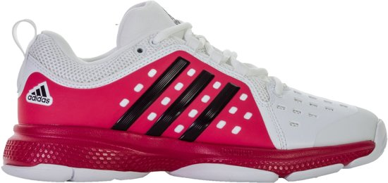 official photos a621c 8f6e5 adidas Barricade Classic Bounce Tennisschoenen - Maat 42 - Vrouwen - wit -  roze - zwart