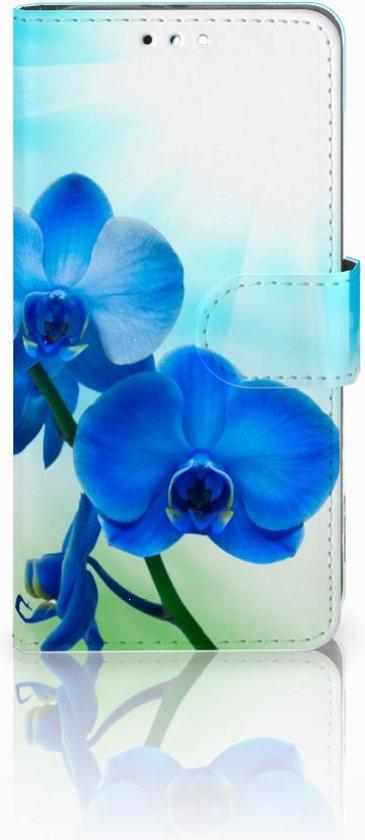 Huawei Honor 9 Uniek Design Hoesje Blauwe Orchidee�n in Westerlo