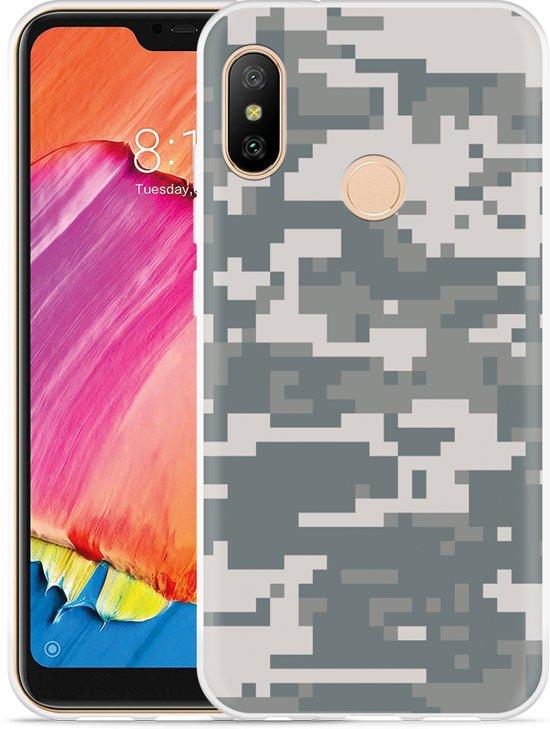 Xiaomi Redmi 6 Pro Hoesje Army Digi Camouflage