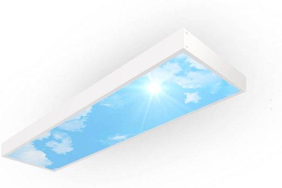 Easy Daylight Panel   Wolkenplafond lamp - Smal