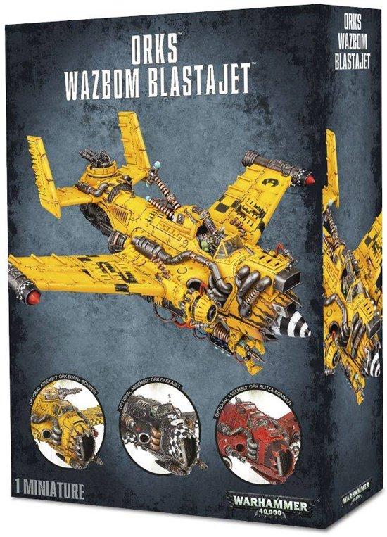 Warhammer 40,000 Xenos Orks: Wazbom Blastajet