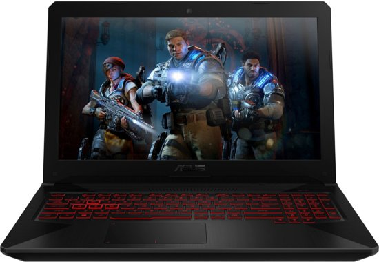 Asus FX504GD-E41109T - Gaming Laptop - 15.6 inch
