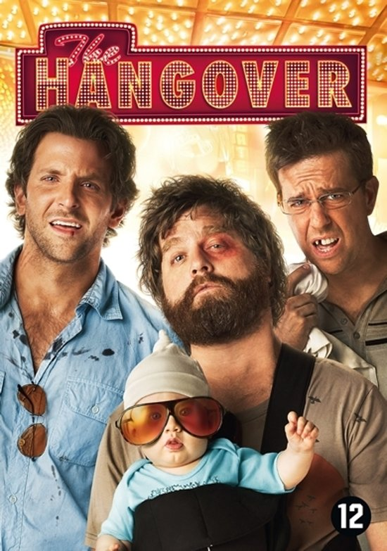 DVD cover van The Hangover