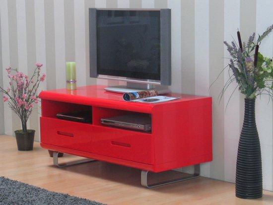 Tv Meubel Rood : Bol spacy tv meubel rood hoogglans