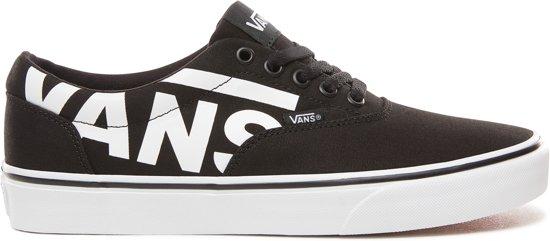 white 44 Sneakers Vans Heren Doheny Black big Logo Maat wF8URAqx