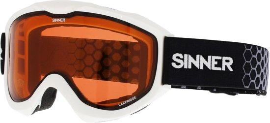 Sinner Lakeridge Unisex Skibril - Wit