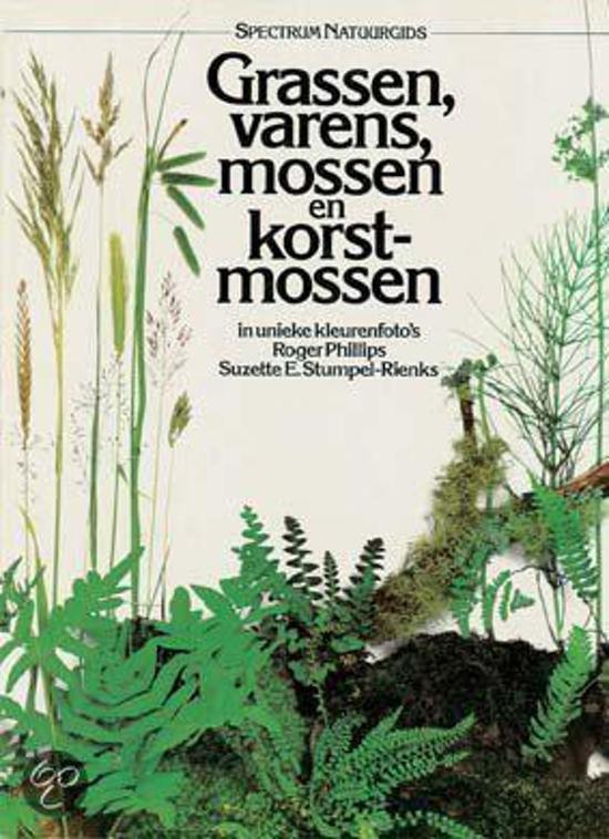 Spectrum natuurgids grassen, varens, mossen en korstmossen