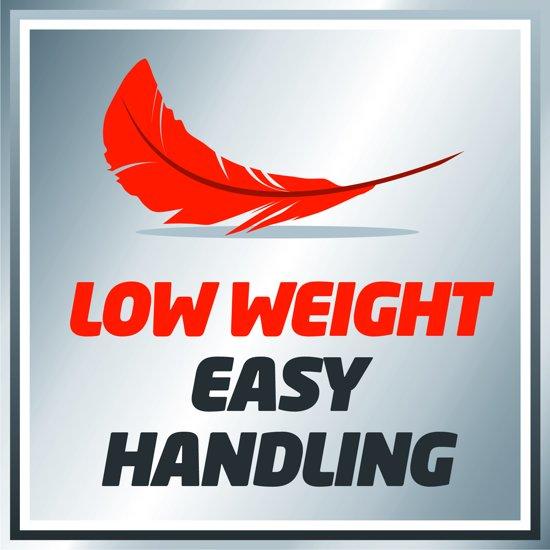 EINHELL Accu Bladblazer GE-CL 18 Li E Kit  - Power-X-Change - 18 V - Inclusief 1x 2,0 Ah accu / 1x lader
