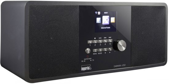 Imperial Dabman i250 DAB+ & Internetradio met Bluetooth