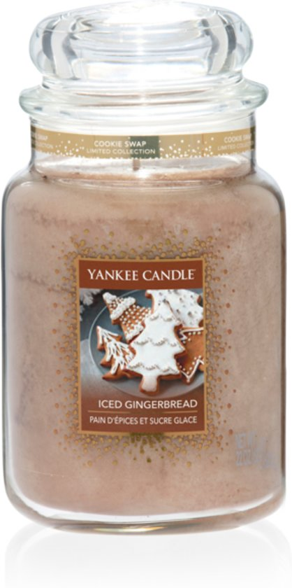 Bol Com Yankee Candle Iced Gingerbread Large Jar