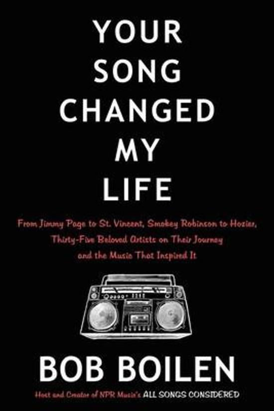 Boek cover Your Song Changed My Life van Bob Boilen (Onbekend)
