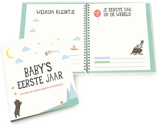 Baby's eerste jaar album