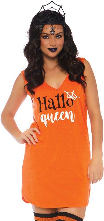 Halloween Kostuum Nl.100 Nl Oranje Kostuum Halloween Hallo Queen Vrouw Small Halloween Verkleedkleding