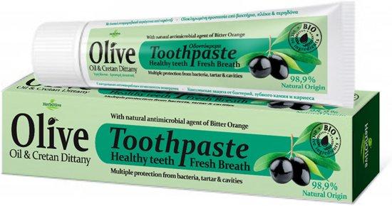 Herbolive Natuurlijke Tandpasta met Olijfolie