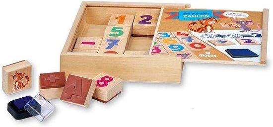 Afbeelding van het spel Stempelset Mijn Eerste Cijfers