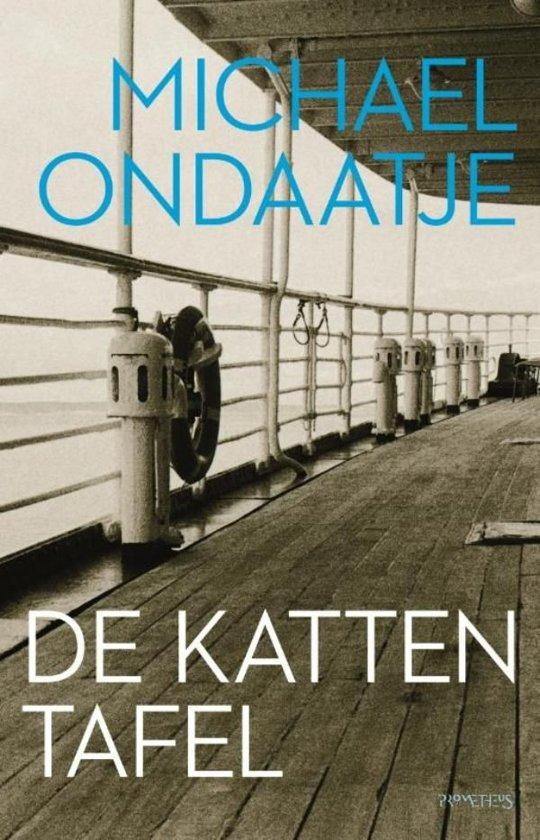Boek cover De kattentafel van Michael Ondaatje (Onbekend)