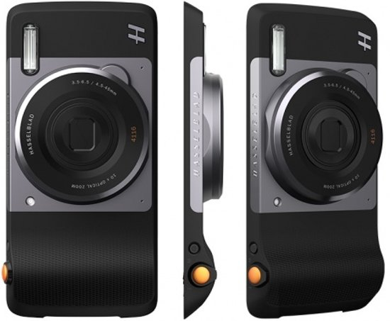 Motorola Moto Mod - Hasselblad True Zoom Camera / Zwart