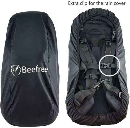 fc29b239c8c bol.com | Beefree nylon backpack regenhoes 55-90L | Incl. extra clip ...