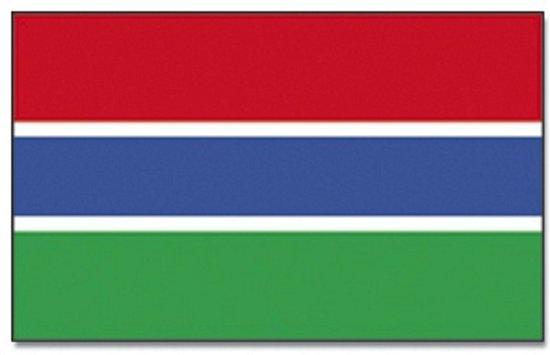 Vlag Gambia 90 x 150 cm