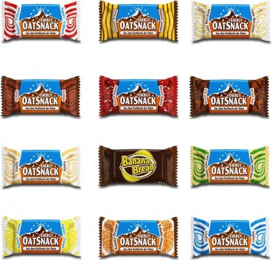 Davina - Energy OatSnack - 15 repen - 65 gr pst - smaken in de mix (probeer pakket)