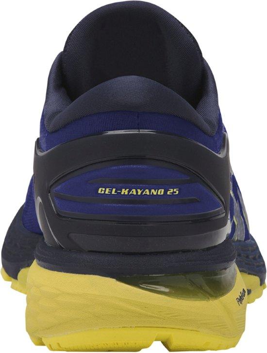 Asics Gel-Kayano 20 Hardloopschoenen Heren  Sportschoenen - Maat 42.5 - Mannen - blauw/geel/zwart