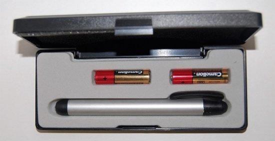 Camelion Penlamp - Aluminium - incl. batterij