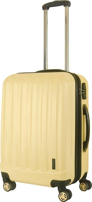 Packenger Premium Reiskoffer Velvet L (60L) - Café-au-lait