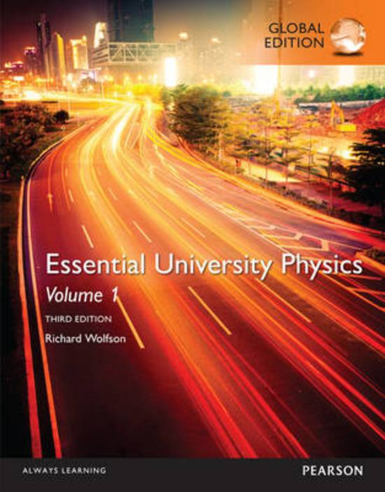 Afbeeldingsresultaat voor essential university physics volume 1