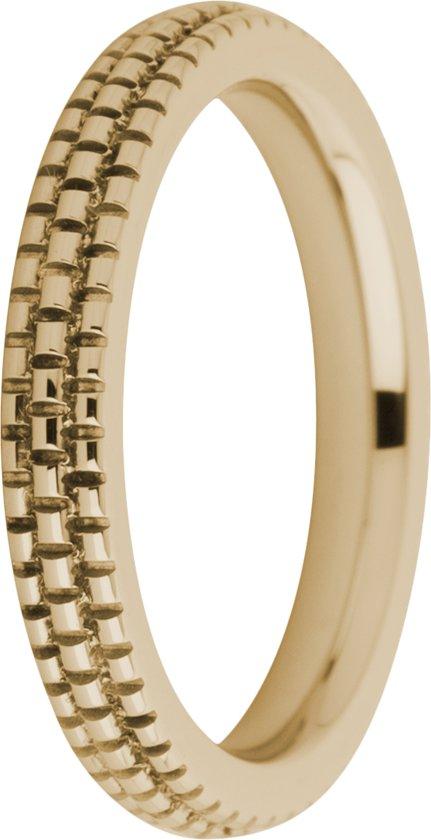 Melano friends sarah refined engraved ring - rosekleurig - dames - maat 54