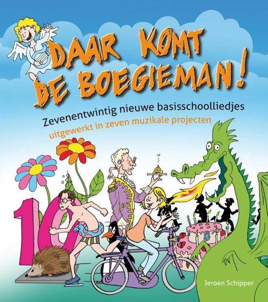 Cover van het boek 'Daar komt de Boegieman!' van Jeroen Schipper