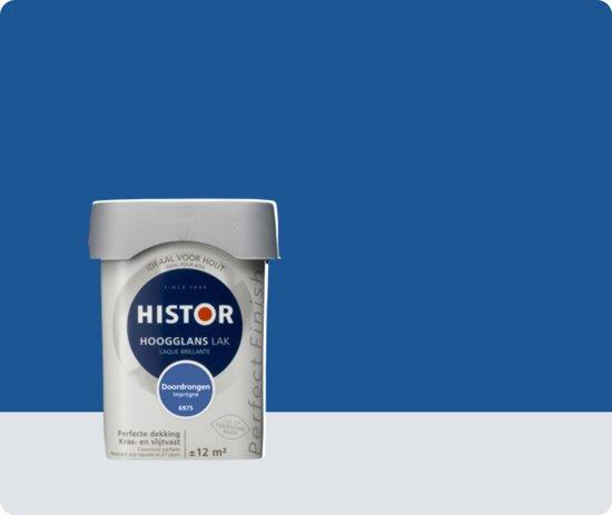 Histor Perfect Finish Lak Hoogglans 0,75 liter - Doordrongen