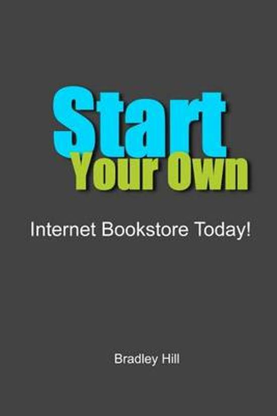 Start Your Own Internet Bookstore Today