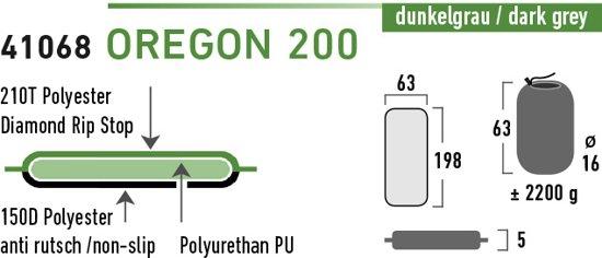 High Peak Oregon 200 Slaapmat