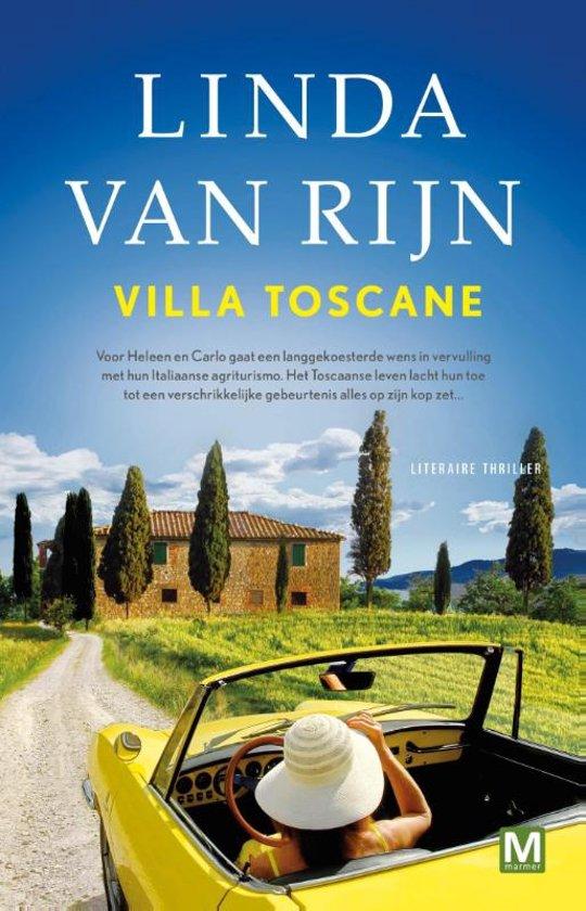 Boek cover Villa Toscane van Linda van Rijn (Paperback)