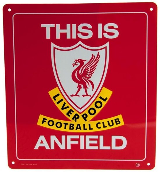 Liverpool Window Sign SQ