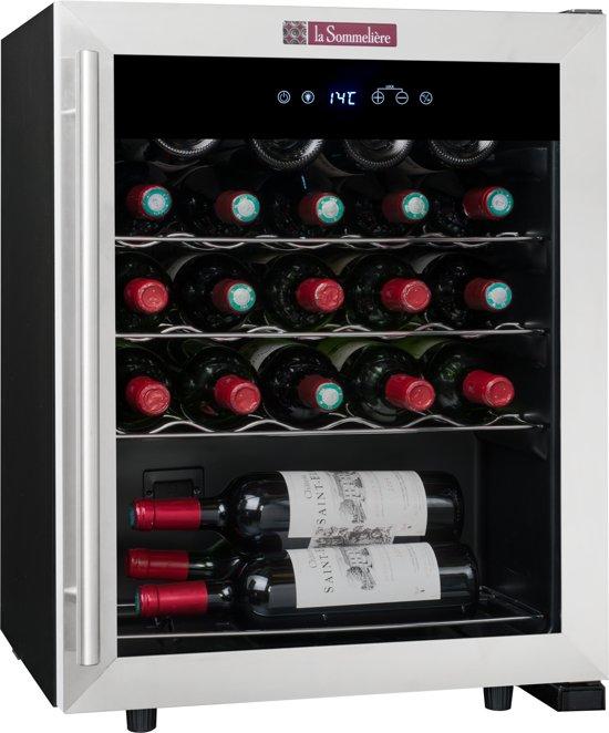 Bol Com La Sommeliere Ls24 Wijnklimaatkast Monotemperatuur 23