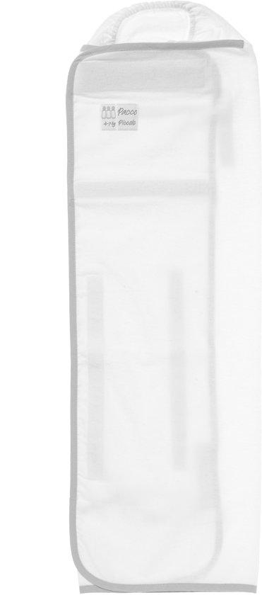 Pacco Piccolo - Inbakerdoek 4 tot 7 kg - wit