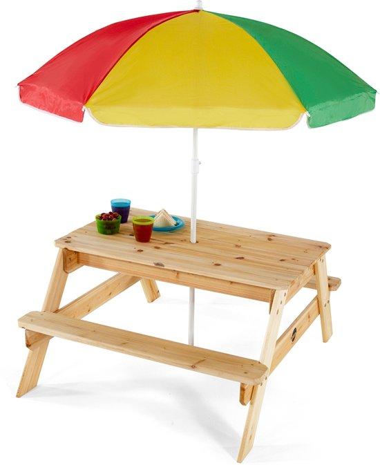 Uitgelezene bol.com | Plum Tuinset Plum - Picknicktafel met Parasol, Plum TE-18