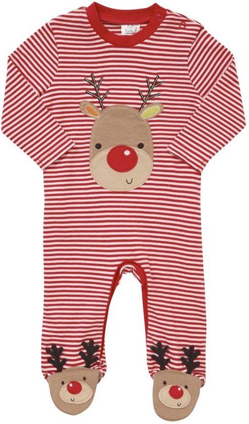 Babykleding Voor Kerst.Bol Com Kerst Boxpakje Rudolf Maat 56 62