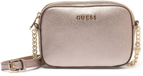 GUESS Isabeau Silver Schoudertas HWISAB-P6412-SIL