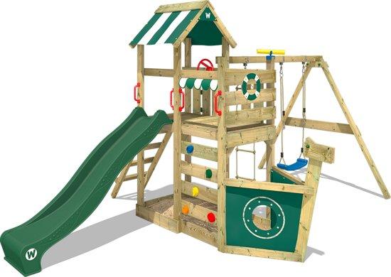 Speeltoestel Kleine Tuin : Bol.com wickey seaflyer groen speeltoestel tuin wickey speelgoed