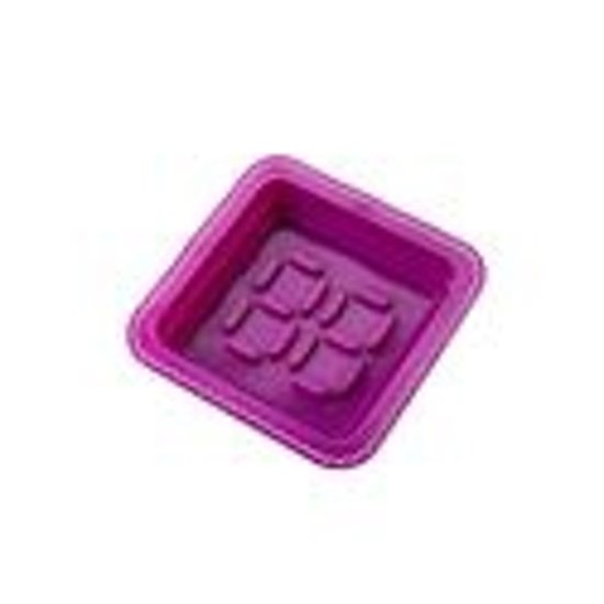 E-my Dessert Roundy - Bakvorm - Siliconen - Paars