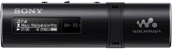 Sony NWZ-B183F Walkman - MP3-Speler - 4 GB - Zwart