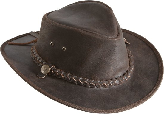 Leather Country Hat/S/Cracker