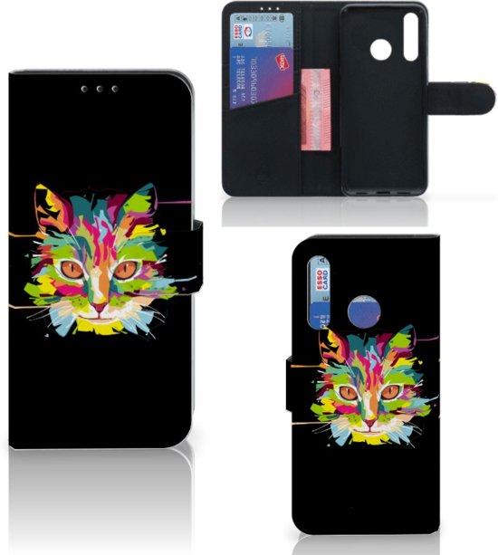 Huawei P Smart Plus (2019) Leuk Hoesje Cat Color