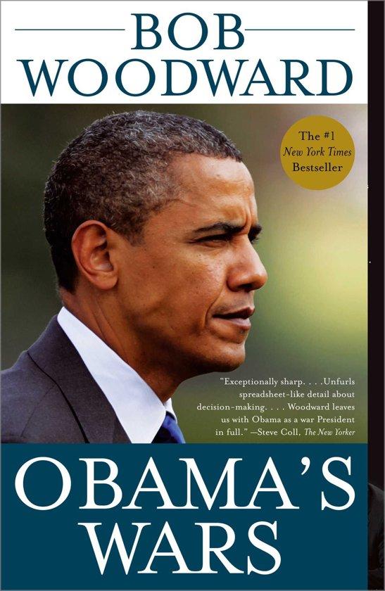 Boek cover Obamas Wars van Bob Woodward (Onbekend)