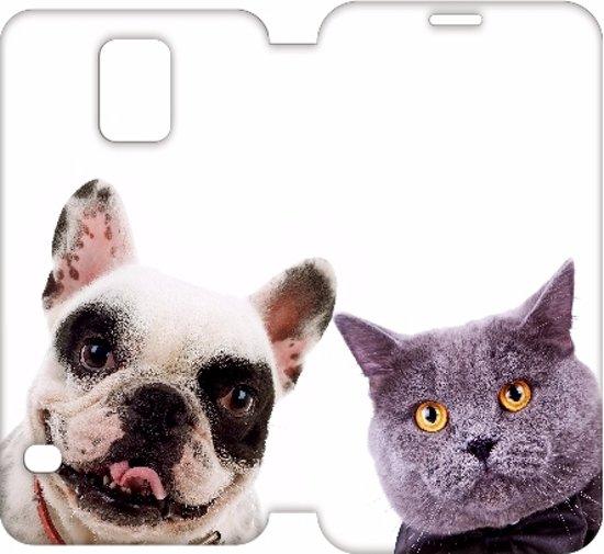 Samsung Galaxy S5 Uniek Hoesje Hond en Kat in Kouwenberg