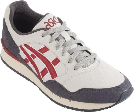 Asics Gel-Atlanis  Sportschoenen - Maat 42 - Mannen - grijs/rood